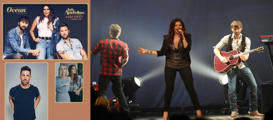 Lady Antebellum at Walmart AMP