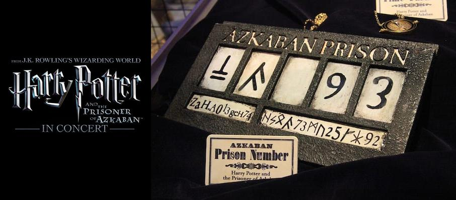 Harry Potter and the Prisoner of Azkaban in Concert at Walmart AMP