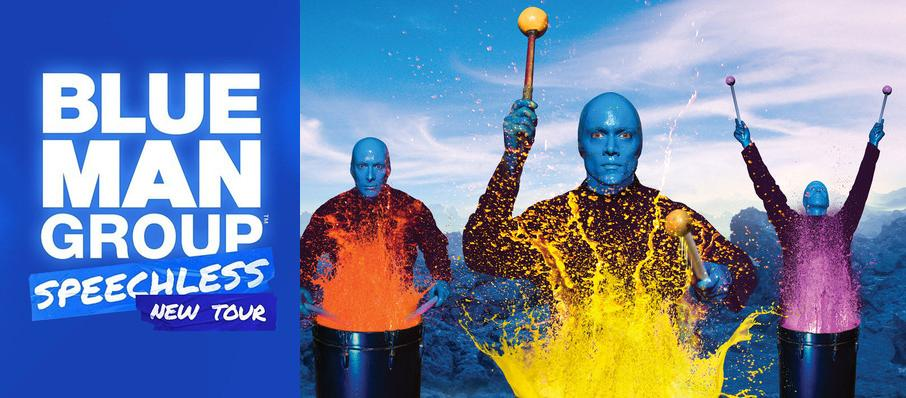 Blue Man Group at Baum Walker Hall