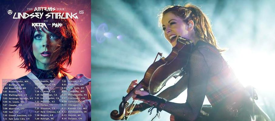 Lindsey Stirling at Walmart AMP