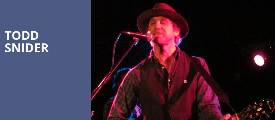 Todd Snider, Georges Majestic Lounge, Fayetteville