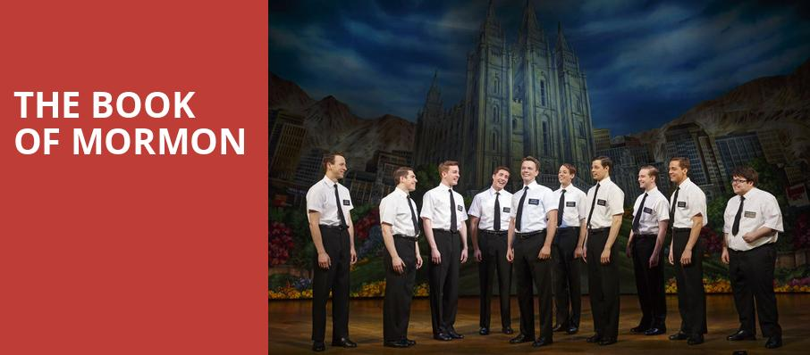 The Book of Mormon, Baum Walker Hall, Fayetteville
